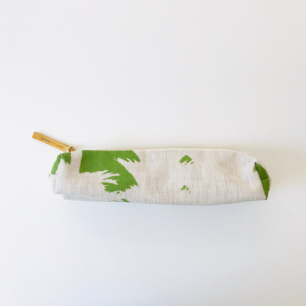 SHIPS NOW! EVERGREEN ASHLEY PINE PENCIL ZIPPER BAG