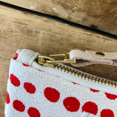 CREW HILARY WRISTLET ZIPPER BAG