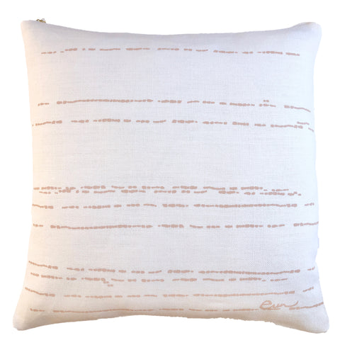 DUSTY PINK RIVER PILLOW