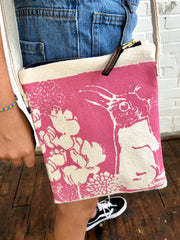 HOT PINK BUNNY BOO MINI CROSS BODY BAG