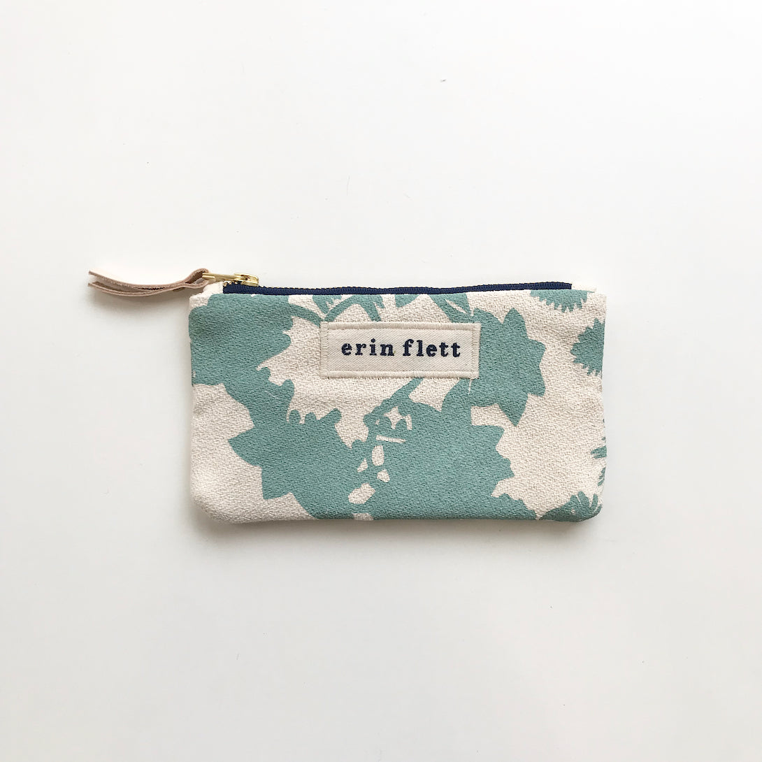 SHIPS NOW! ROBINS EGG DEEP WOODS CARD WALLET
