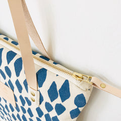 SHIPS NOW! COBALT LEAVES MOD TOTE
