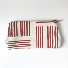 SHIPS NOW! CLAY BRUSH MAKEUP ZIPPER BAG