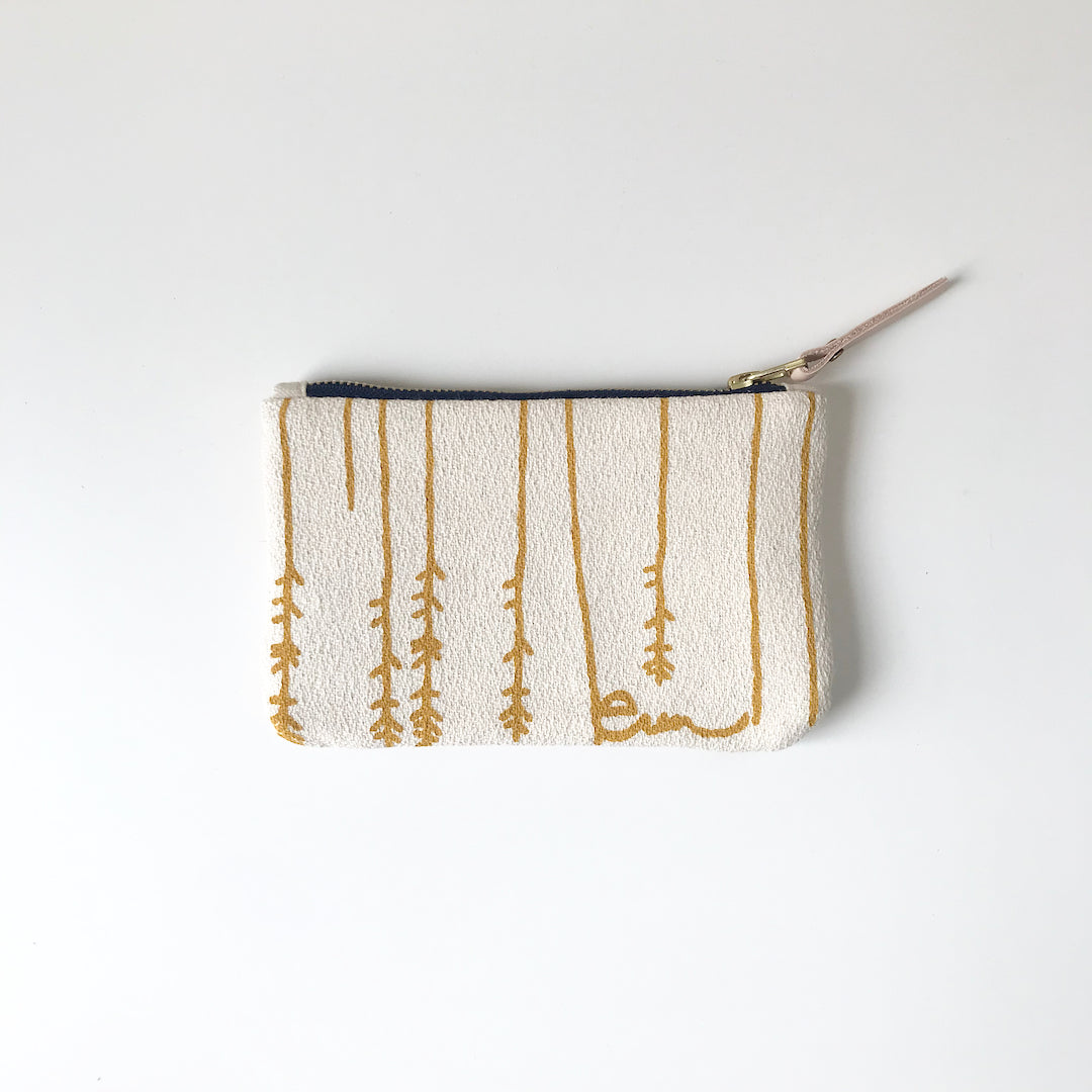 SHIPS NOW! GOLD TWIGS CARD WALLET