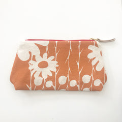 SHIPS NOW! MANGO DAISY THORN MAKEUP ZIPPER BAG