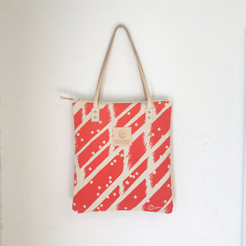 GRAPEFRUIT FLYING CARPET MOD TOTE