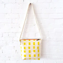 LEMON SQUARES CROSS BODY BAG