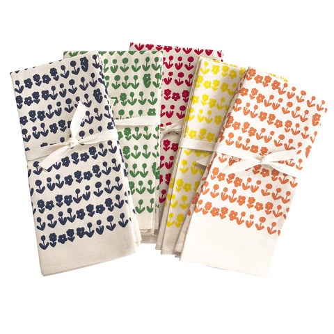 SCANDI COTTON NAPKINS. SET OF 2.
