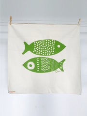 DOUBLE TUNA TEA TOWEL