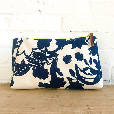 NAVY DEEP WOODS JEN BAG