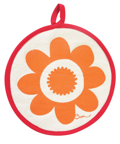 MANGO DAISY POT HOLDERS, SET OF 2