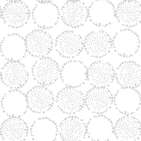 DANDELION GRAY WALLPAPER