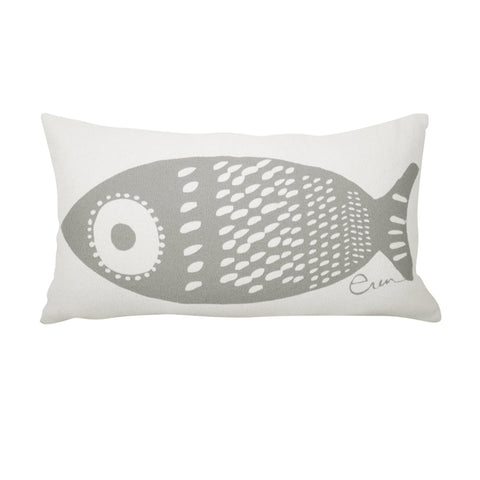 SINGLE TUNA LUMBAR PILLOW COVER IN RAINY DAY