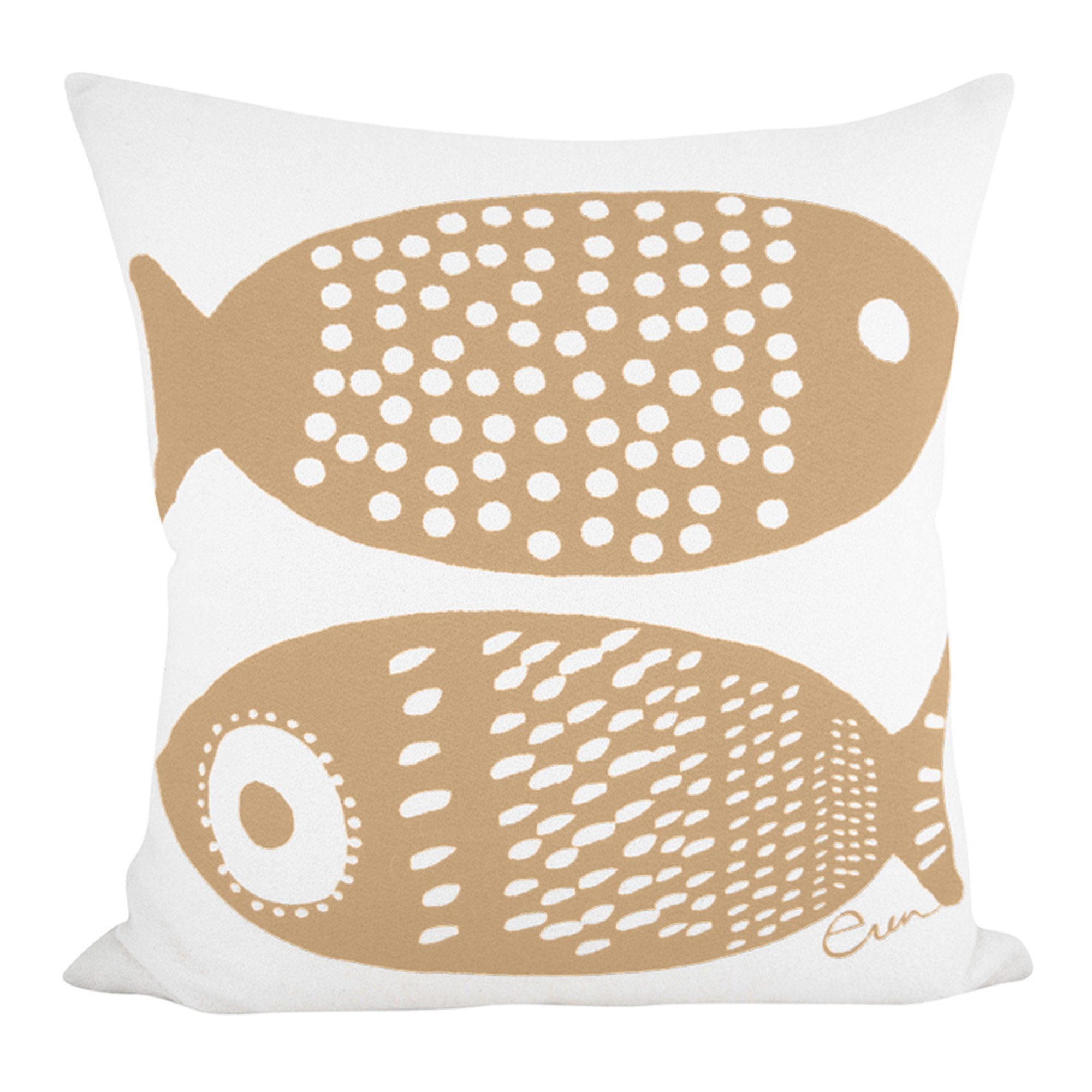 DOUBLE TUNA PILLOW COVER IN SAND