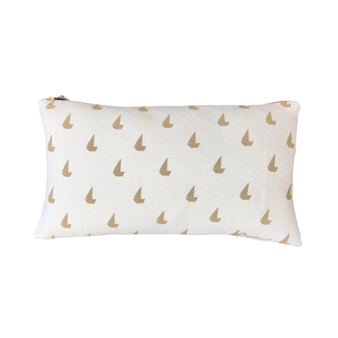 SAND SAILBOATS PILLOW