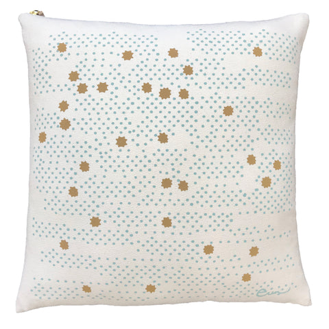 ROBINS EGG NIGHT SKY PILLOW