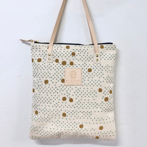 ROBINS EGG NIGHT SKY MOD TOTE
