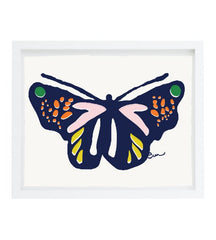 SHIPS NOW! BUTTERFLY METAMORPHOSIS GICLEE ART PRINT