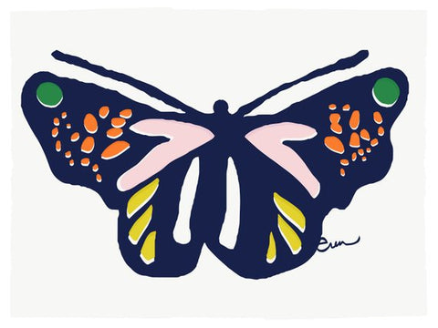BUTTERFLY METAMORPHOSIS GICLEE ART PRINT
