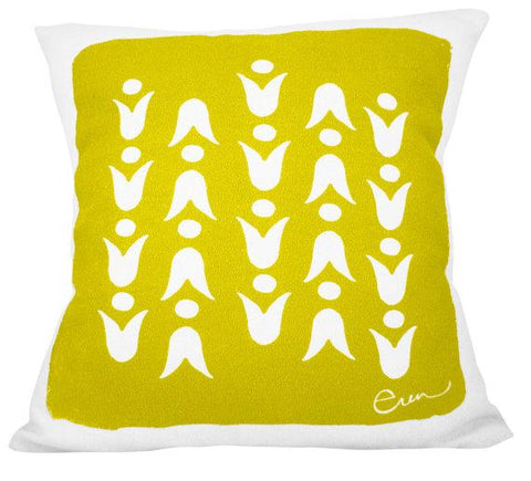 MELLO YELLOW MOD TULIP PILLOW