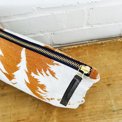 SIENNA ASHLEY PINE ZIPPER BAG