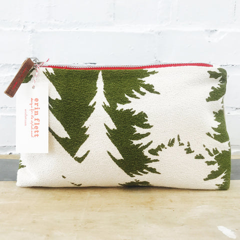 EVERGREEN ASHLEY PINE ZIPPER BAG