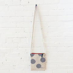 RAINY DAY BIG DOT MINI CROSS BODY BAG