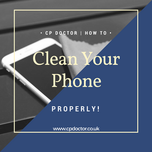 HOW TO CLEAN YOUR SMARTPHONE PROPERLY?