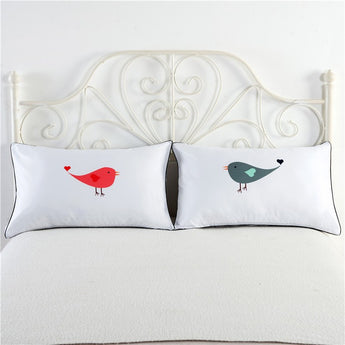 Birds Pillowcase Set