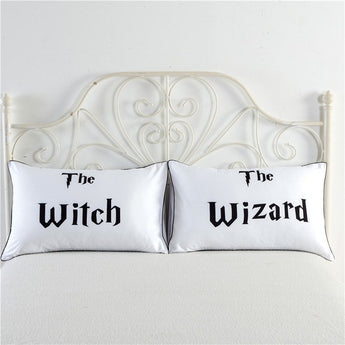 The Witch & The Wizard Pillowcase Set