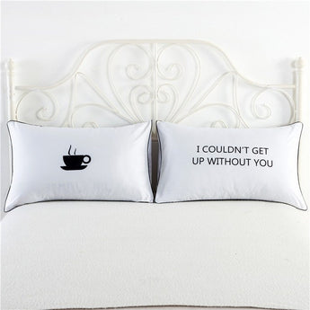 Get Up Pillowcase Set