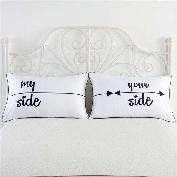 My Side Your Side Pillowcase Set