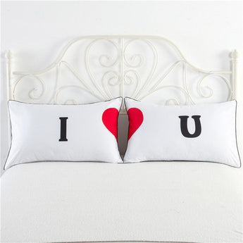 I Love You Pillowcase Set