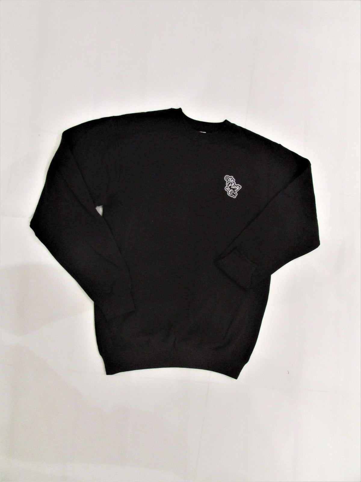 Crew Neck Sweatshirt Black male
