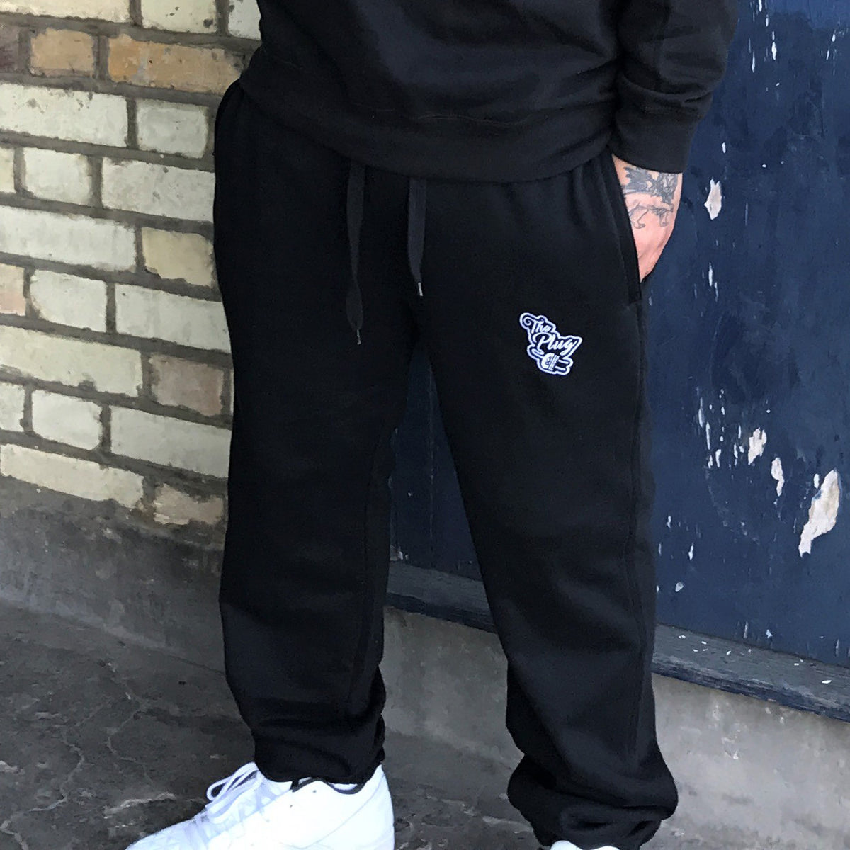 Tracksuit Bottoms Black male