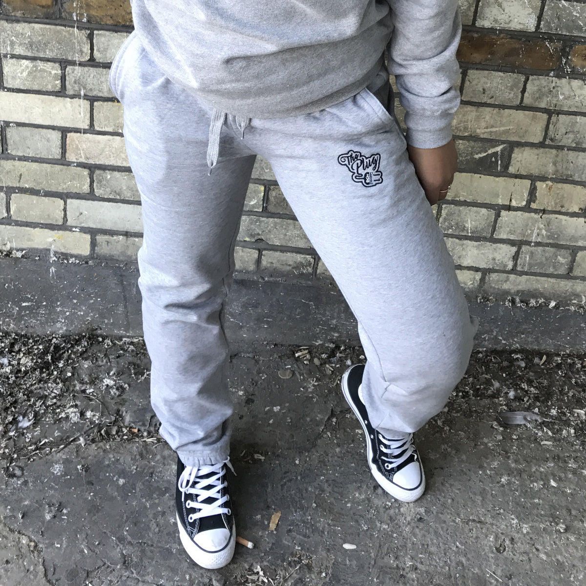 Tracksuit Bottoms Grey female