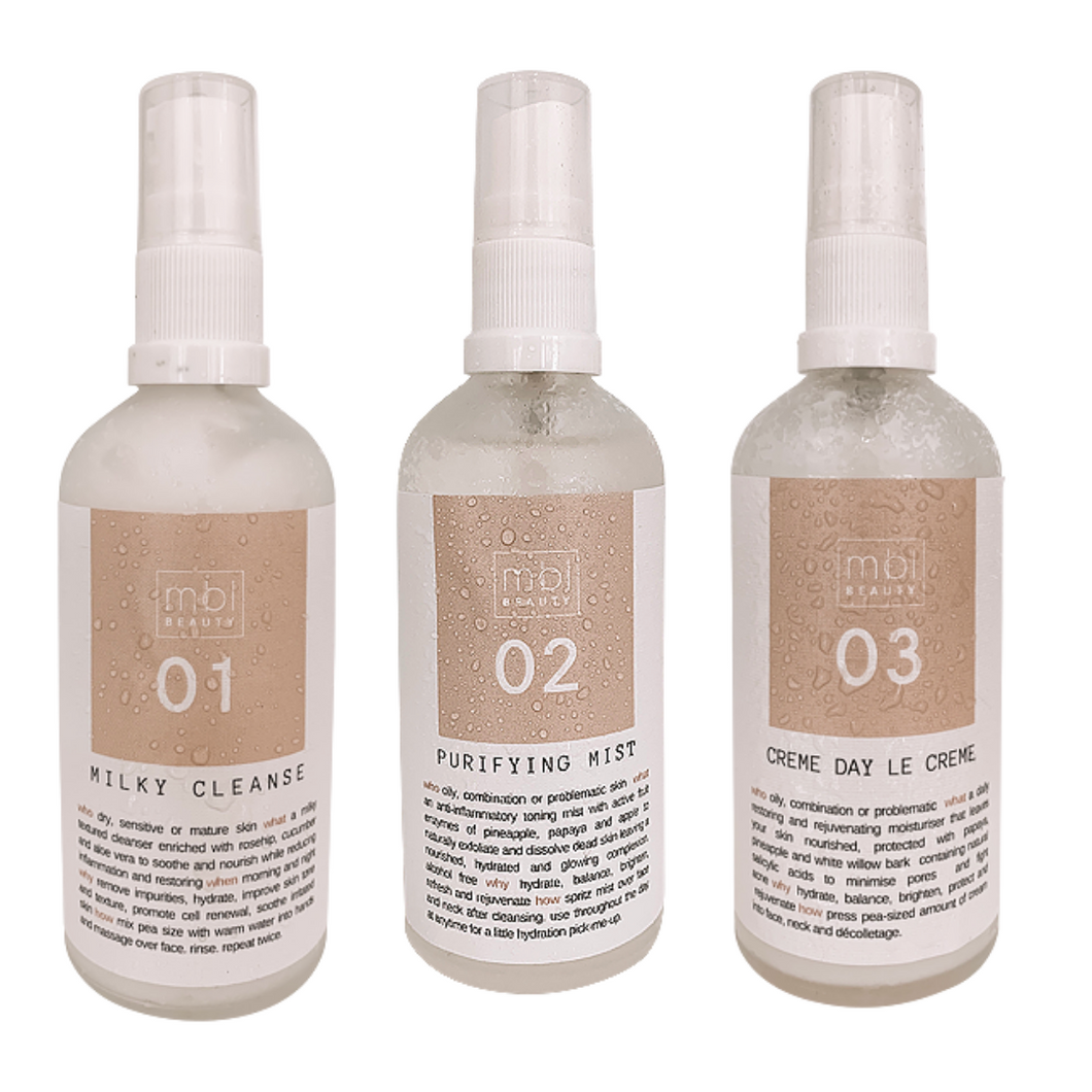 Combination Skincare Trio