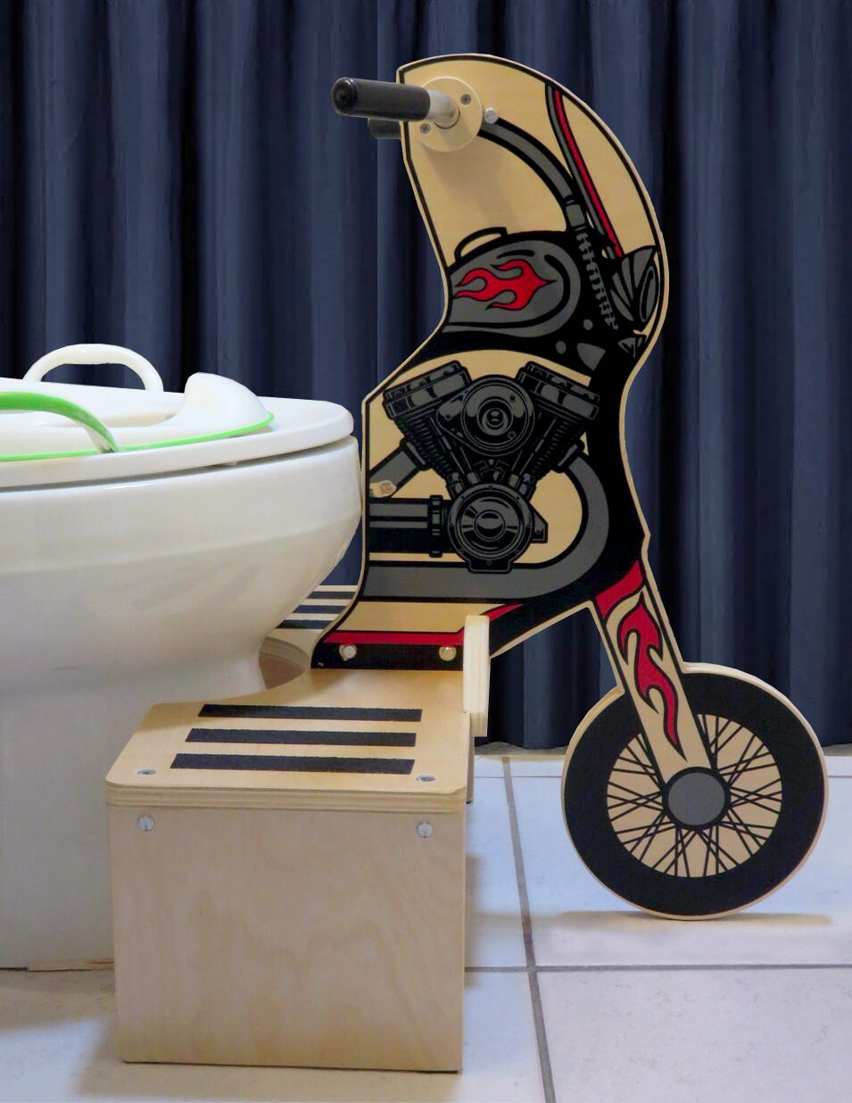 Potty Rider MOTORCYCLE - ONLY 6 LEFT BEFORE PRICE INCREASE