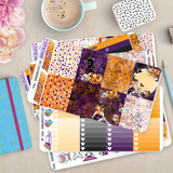 [K006] Spooky Erin Condren Vertical Weekly Kit