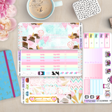 [K001] Sugar Therapy Erin Condren Vertical Weekly Kit