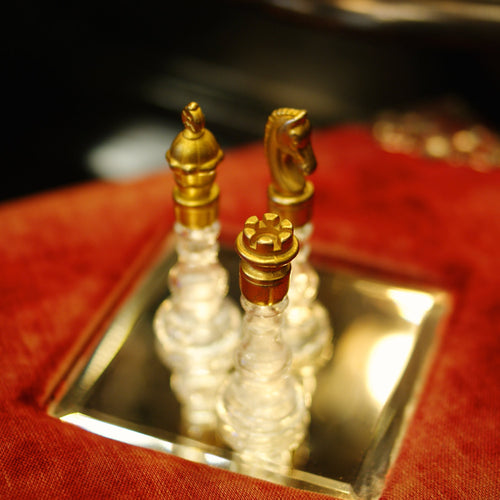 Vintage Chess Perfume Bottles by Theater Potion - Theater Potion