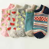5 Pairs Funny Ankle Socks
