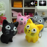 Cute Cat Key Chain with Meow sound