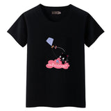 Black-Cat T-shirt black