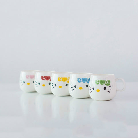 Cute Cartoon Cat Ceramic Mug