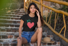 LavaMeaX QUEEN OF HEARTS  Women's T-Shirt - Beats 4 Hope