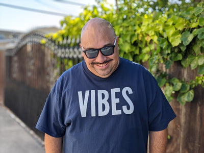 VIBES - AUDIO 1 Men's X  T-Shirt - Beats 4 Hope