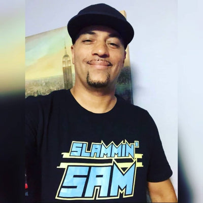 SLAMMIN' SAM LOGO TEE - Beats 4 Hope