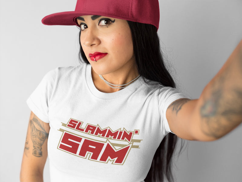 SLAMMIN' SAM 49er T-Shirt - Beats 4 Hope