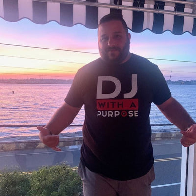 DJ WITH A PURPOSE  T-Shirt - Beats 4 Hope